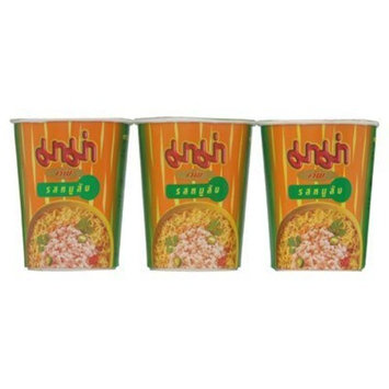Mama Cup Instant Noodles Pork 60g. (Pack of 3)