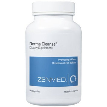 ZENMED Derma Cleanse Capsules - 90 caps All Natural Holistic Approach For Internal Cleanse to Promote a Healthier Complexion