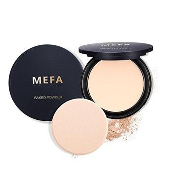 MEFA Face Baked Powder, Pressed Concealer Makeup Baked Powder Foundation