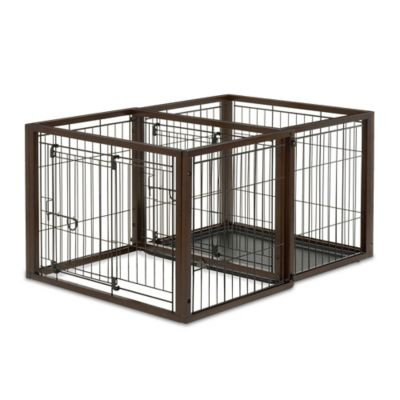 Richell Flip to Play Pet Crate