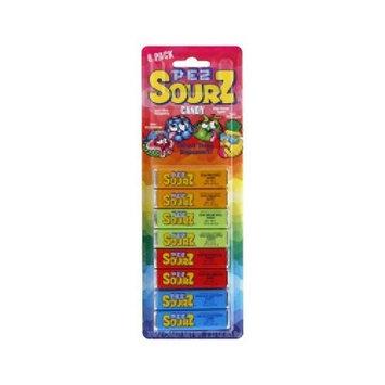 Pez Candy Pez! ‑ New Pez Sours Refill Variety Sourz 8 Pack!