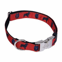 Country Brook Design® Premium Schipperke Ribbon Dog Collar