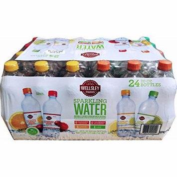 Wellsley Farms Sparkling Water Variety, 24 pk./20 oz.