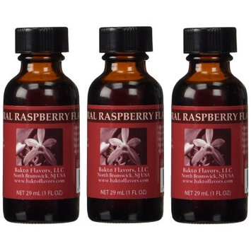 Bakto Flavors Ras0001 Natural Raspberry Extract Pack of 3