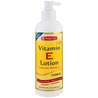 De La Cruz, Vitamin E Lotion, 12,000 IU, 8 fl oz (237 ml)