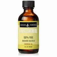 Sensible Remedies Lotus (Sacred) 100% Therapeutic Grade Essential Oil, 4 fl oz