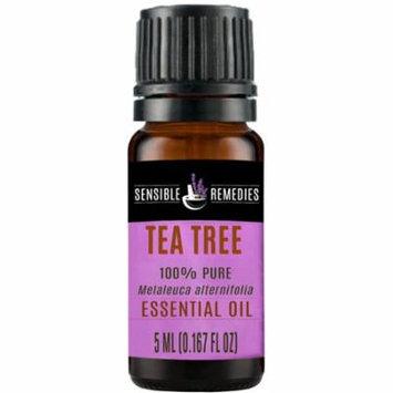 SENSIBLE REMEDIES Tea Tree 100% Therapeutic Grade Essential Oil