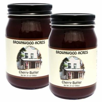 Brownwood Acres Famous Cherry Butter LG - 2 PACK -21 oz. eaach
