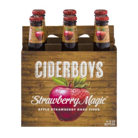 Ciderboys Cider Company Ciderboys Strawberry Magic Apple Strawberry Hard Cider - PK, 12.0 OZ