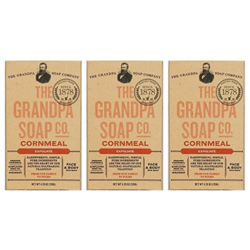 The Grandpa Soap Co- Cornmeal (4.25 oz) (3-pack)