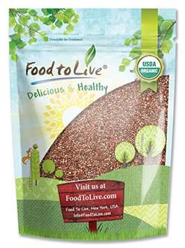 Food To Live ® Certified Organic Radish Seeds for Sprouting (5 Pounds)