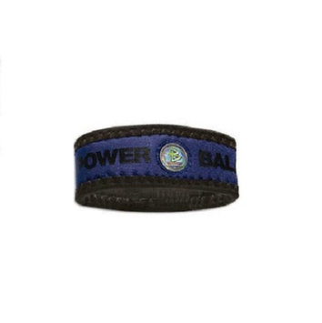 Authentic Power Balance Neoprene Wristband - Navy/Black - M