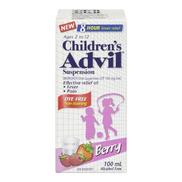 Advil Childrens Suspension Blue Raspberry [Blue Raspberry]