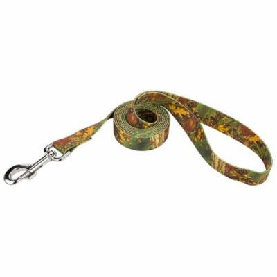 Country Brook Design® 5/8 Inch Southern Forest Camo Dog Leash - 2 Foot