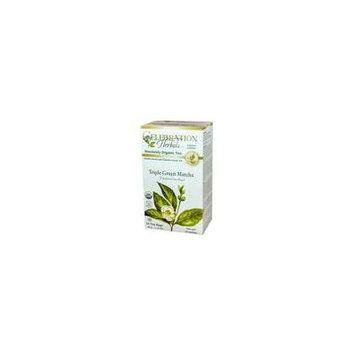 Celebration Herbals Green Tea - Matcha - Triple Green - 24 bags
