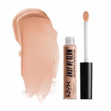 (3 Pack) NYX Away We Glow Liquid Highlighter - Moonbeam