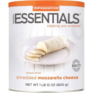 Emergency Essentials Freeze-Dried Shredded Mozzarella Cheese, 18 oz
