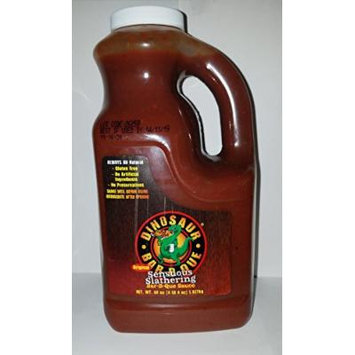 Dinosaur Bar-B-Que Original Sensuous Slathering BBQ Sauce-68 Ounce Bottle (Half Gallon)