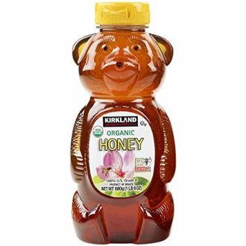 Kirkland Signature Pure Honey (Raw Organic 24 FL OZ)