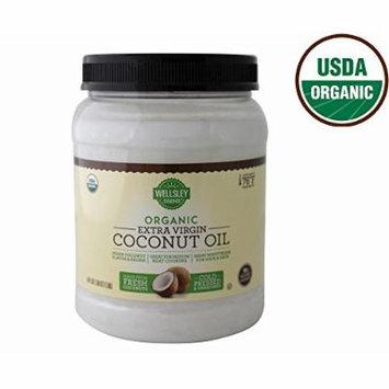 Wellsley Farms Organic Extra Virgin Coconut Oil, 54 oz. (pack of 6)