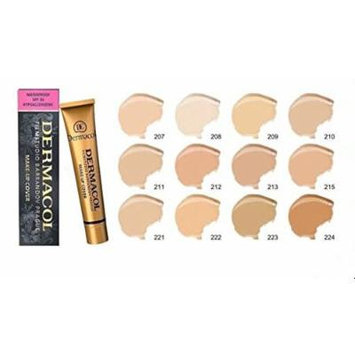 DERMACOL FILM STUDIO LEGENDARY HIGH COVERING MAKE UP Concealer Waterproof SPF 30 (222)