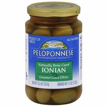 Peloponnese Gourmet Ionian Green Olives,
