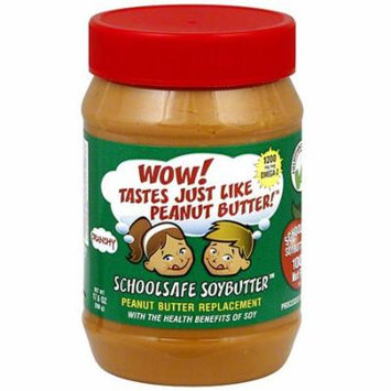 Wowbutter Crunchy Soy Spread, 17.6 oz (Pack of 6)