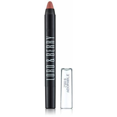 Lord & Berry 20100 Crayon Lipstick, Adorable Matte, 0.5 Ounce