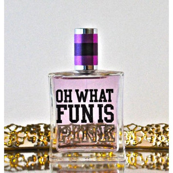 Victorias Secret Oh What FUN Is Pink Frosted Peony and Amber Eau De Toilette 2.5 Oz
