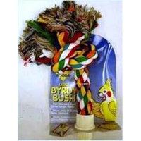 Aspen Pet Booda Burdy Bush Multicolor Large Bird Toy