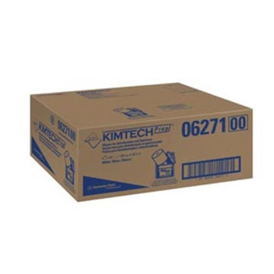 Kimtech KIM 06271 White Wipers for Disinfectants & Sanitizers - 6 Rolls Per Case
