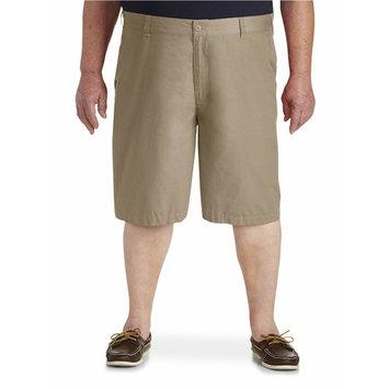 Big Men's Solid Poplin Short