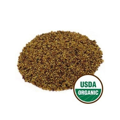 Starwest Botanicals - Bulk Red Clover Sprouting Seeds Organic - 1 lb.