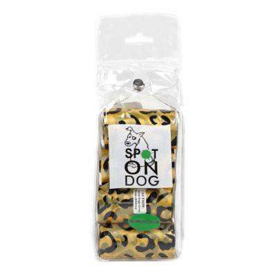 120-Pack Biodegradable Pet Waste Bags in Cheetah
