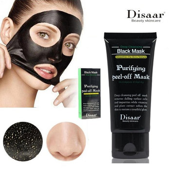 Activated-charcoal Blackhead Remover Deep Cleaning Peel-off Black Face Mask-FancyNova