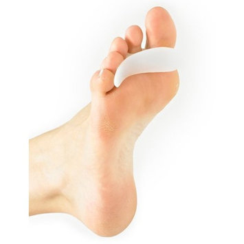 NEO G Silicone Toe Crest with Loop - LEFT - Medical Grade Quality, Premium Quality Silicone HELPS discomfort from hammer, claw, mallet toes, pressure, friction and irritation - Unisex