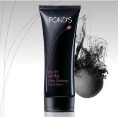 Pond's Pure White Deep Cleansing Brightening Facial Foam 100g