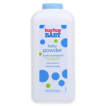 buybuy Baby 22 oz. Baby Powder Pure Cornstarch with Aloe Vera and Vitamin E