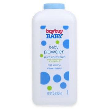 buybuy Baby 22 oz. Baby Powder Pure Cornstarch with Aloe Vera and Vitamin E