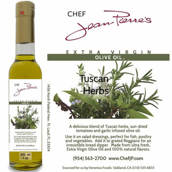100% naturally infused Tuscan Herb Olive Oil