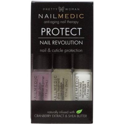 Pretty Woman Nailmedic Nail Revolution 3 Phase Cuticle & Nail Treatment, 3 pc