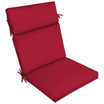 Arden Companies Better Homes and Gardens Outdoor Patio Dining Chair Cushion, Really Red Texture