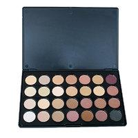 Enshey 28 Colors Eye Shadow Palette Matte Professional Vegan Nudes Warm Shimmer Eyeshadow Makeup Beauty Palette Set