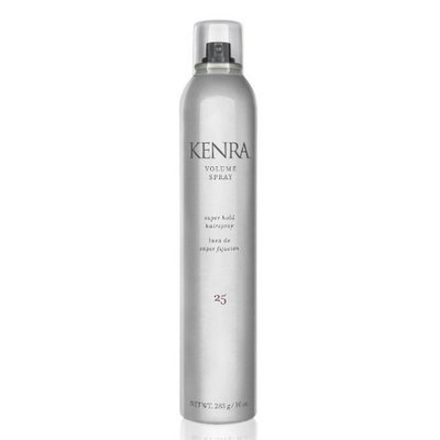 Volume Spray 25 Super Hold Finishing and Anti-Frizz Oil Kit by Kenra for Unisex - 2 Pc Kit 10oz Volume Spray, 1oz Anti-Frizz Oil