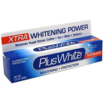 Plus White Whitening Toothpaste Mint 3.5 oz