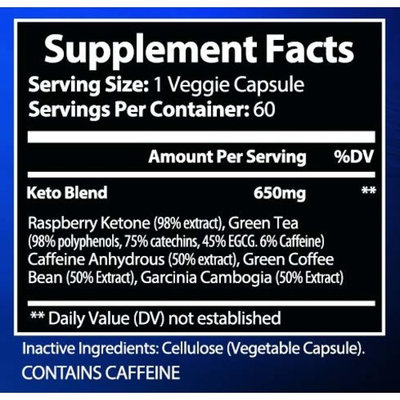 Keto Diet Pills by Pinnakkle | Advanced Keto Weight Loss Supplement | Ketogenic Fat Burner | Burn Fat Instead of Carbs | Ketosis Supplement | Supports Healthy Weight Loss | 30 Day Supply