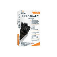 Sentry FiproGuard Topical Flea and Tick for Dogs [3-Month]
