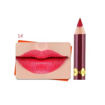 DZT1968 1 Pcs 12 Colors Professional casual party Lipliner Makeup Waterproof Persistent Lip Liner Pencil