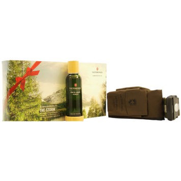 Swiss Army Forest by Swiss Army for Men - 2 Pc Gift Set 3.4oz EDT Spray, Adventure Bag
