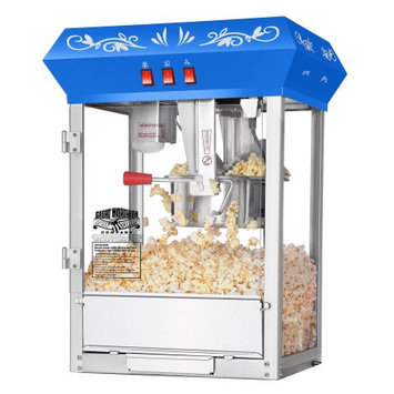 Great Northern Popcorn Company Great Northern Popcorn Blue Foundation Popcorn Popper Machine 8 Ounce